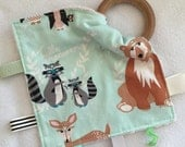 Hello Bear Teething Taggie - Perfect Baby Shower Gift!