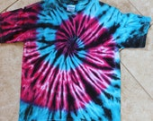 Tie dye tee shirt youth size M