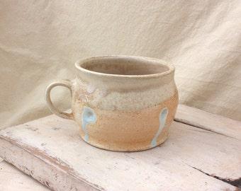 Hand Made Ceramic Wood Soda fired Mug 2
