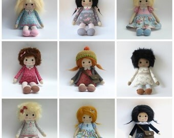 doll, design your own doll heirloom keepsake doll, original heirloom doll
