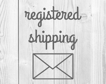 Registered Shipping