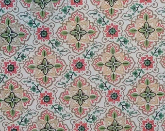 vintage wallpaper 1 yard