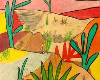 Desert landscape #3