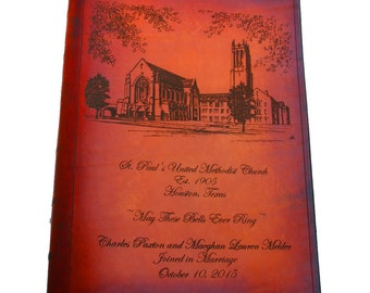 Custom Wedding Bible Using your Artwork or Photograph