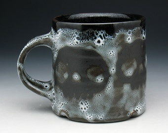 Skull Coffee Mug, Spotted Four Skulls Tea Cup