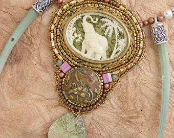Honoring Elephant Necklace