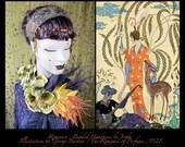 1920s Headpiece,1920s Headband,Feather Headband,Art Deco Headband,Fascinator,Bohemian Headband,1920s Headband,20s Headpiece,Burlesque