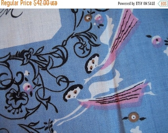 SALE15% Angel in the kitchen. Vtg Pat Prichard 1956 linen kitchen towel, great condition.