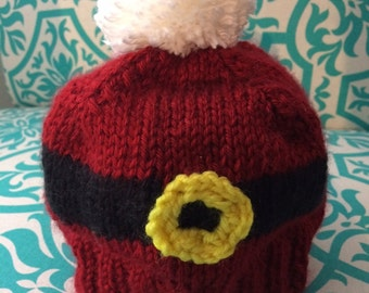 Santa Belt Buckle Hat