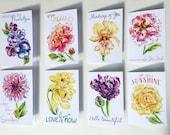 Flower Garden Series Note Cards