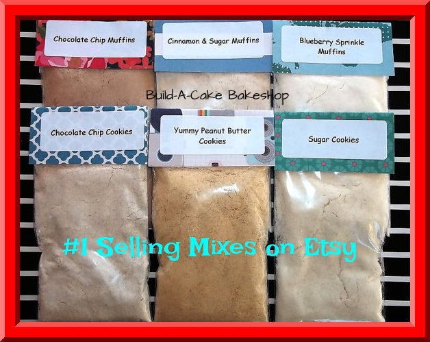 Easy Bake Oven Mixes 6 Homemade Cookie And Muffin Mixes