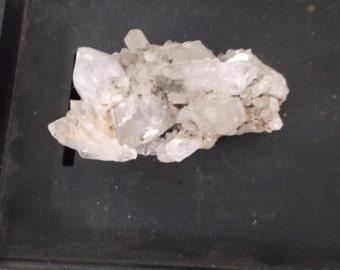 "Clear Quartz Crystal, Raw, Uncut, 2-3/4"""