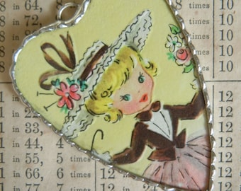Fiona and The Fig - 1950s Era - Southern Belle Charm - Necklace - Pendant - Jewelry