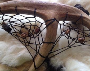 Deer Antler Dreamcatcher ( Spirit of the Deer )