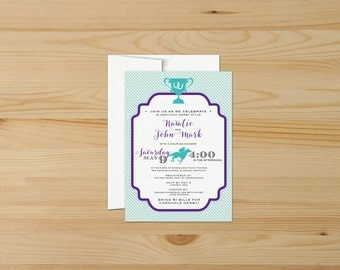 Kentucky Derby Couples Shower Invitations