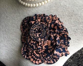 Chiffon Applique Lace Trim - 1 PCS Flower Applique Lace (A100)