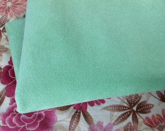 Vintage Original Ultra Suede Fabric, mint green ultra suede fabric