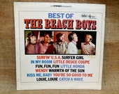FATHERS DAY SALE The Beach Boys - Best of the Beach Boys - 1970s Vintage Vinyl Record Album