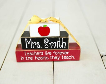 Teacher Appreciation Block Set