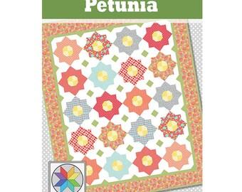 Petunia Quilt Pattern (PDF) Crib, Throw, Twin & Queen sizes