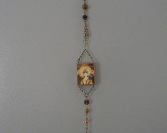 White Tara -- Wall Amulet