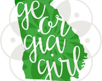 Georgia Girl Decal - yet rtic - vinyl decal