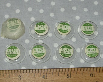 Lot of 10 Watch Maker Domed Crystal Glass Face Fairy KK Japan Window Upcycle Jewelry Parts (VV)