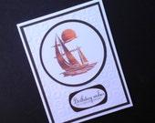 Birthday Card at Sea
