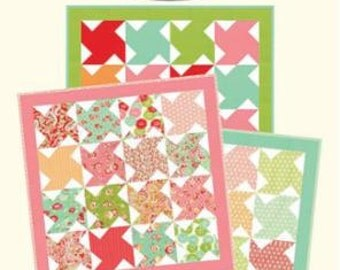 Baby Love CW 963 Quilt Pattern byBonnie Olaveson of Cotton Way