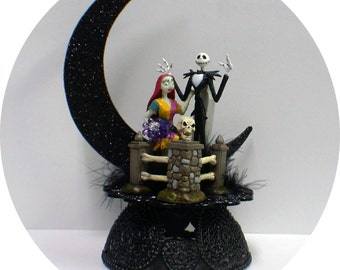 Nightmare before christmas cake toppers | Etsy UK