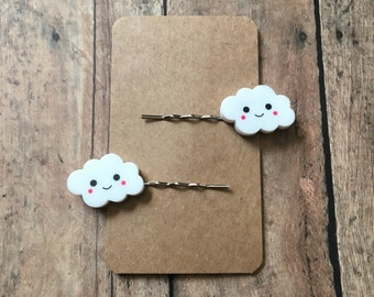 Happy cloud bobby pins