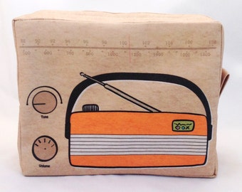 """Sound Waves boxy bag, """"Yester Year Collection"""""""