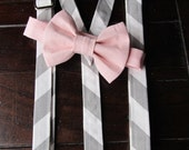 Boys Bow tie, Boys Bowtie, Boys Bowtie and Suspender Set, Bowtie and Suspender set for newborn, toddler and boys