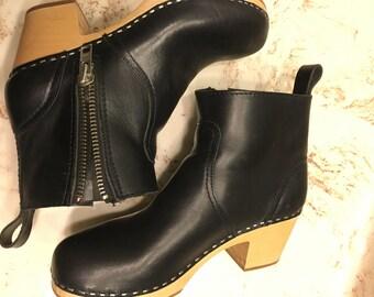 Swedish hasbeen booties size 38