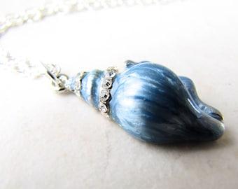 Seashell Necklace, Sea Shell Necklace, Shell Necklace, Conch Shell Necklace, Mermaid Necklace, Beach Jewelry, Beach Wedding, Ocean Jewelry