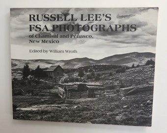 Russell Lee's FSA Photographs of Chamisal and Penasco, New Mexico Vintage Photo Book