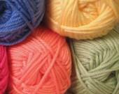 Cascade Cherub Chunky Yarn Skein Acrylic Nylon Blend Machine Wash Soft Baby Cuddly Yarn Fiber