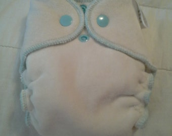 Luxe OBV Newborn Fitted Diapers