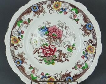 ROYAL CAULDON Bentick Pattern X2279 Dinner Plate PRISTINE