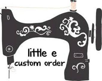 Custom order for Samima