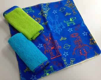 Baby Wash Cloth Set of 3_Multi Robbots