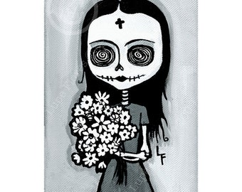 Flowers of the Dead 5x7 print by Lupe Flores