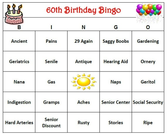 60th Birthday Party Ideas Email Me If You Have Questions And I Can Tell The Other Games We Played E