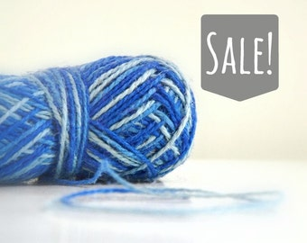 Ombre Blue Rustic Jute Twine / string / blue twine / Yarn - for crafting, kniting, crochet, gift wrapping, packaging, scrapbook