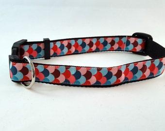 Pink Colorado Flag Dog Collar