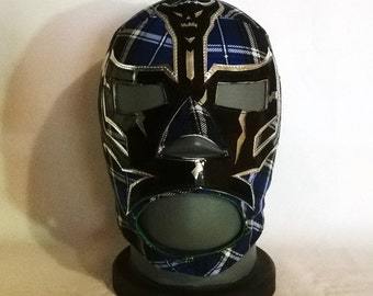Master of the Clan Wrestling Mask Mexican style day of the dead Lucha Libre Mask Halloween Marvel Cosplay luchador Mardi Gras masquerade