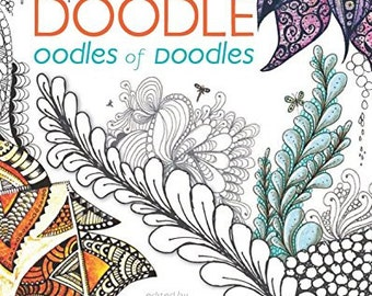 Adult Coloring Book - Zen Doodle Oodles of Doodles - Shipping Only 4 Dollars (29939854)