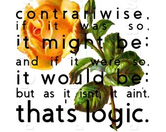 Alice in Wonderland - That's Logic