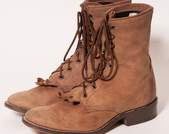 Brown LAREDO Boots Men's Size 10 D