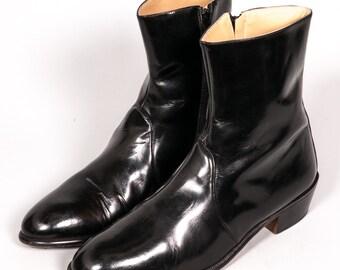 Black BEATLE Boots Men's Size 11 W